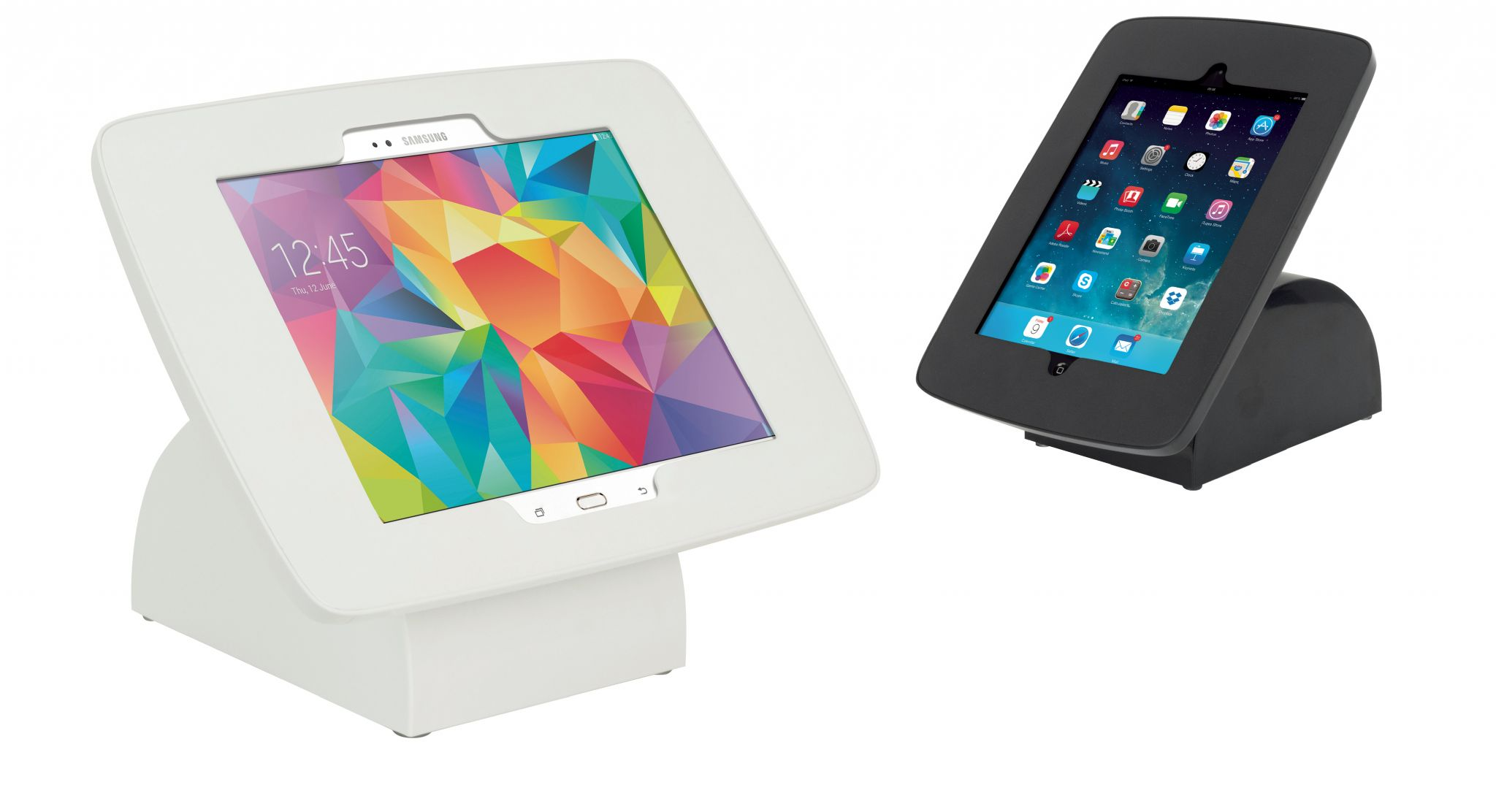 Fabric Exhibition Stand List : Tablet holder ipad or galaxy tab for counter desktop use