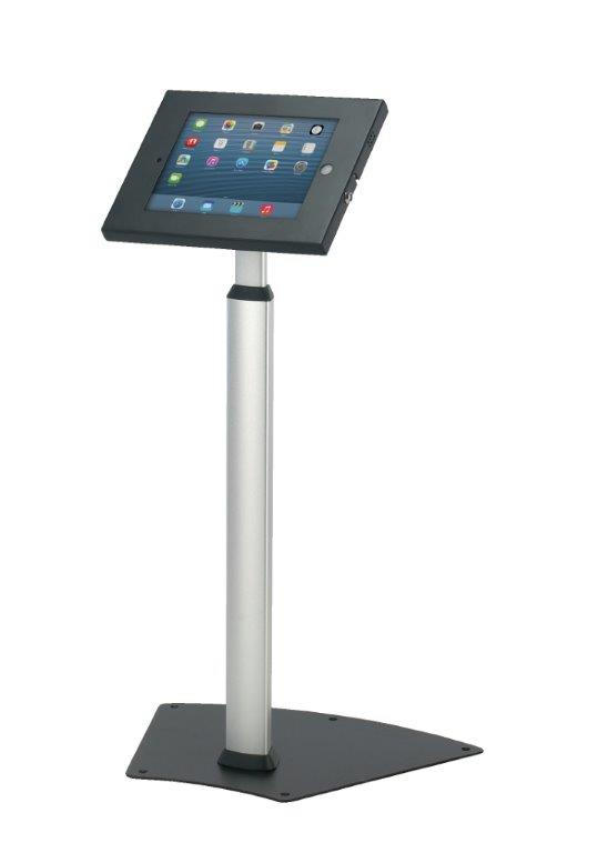 Ipad Exhibition Stand Hire : Locking ipad stand floor standing holder for