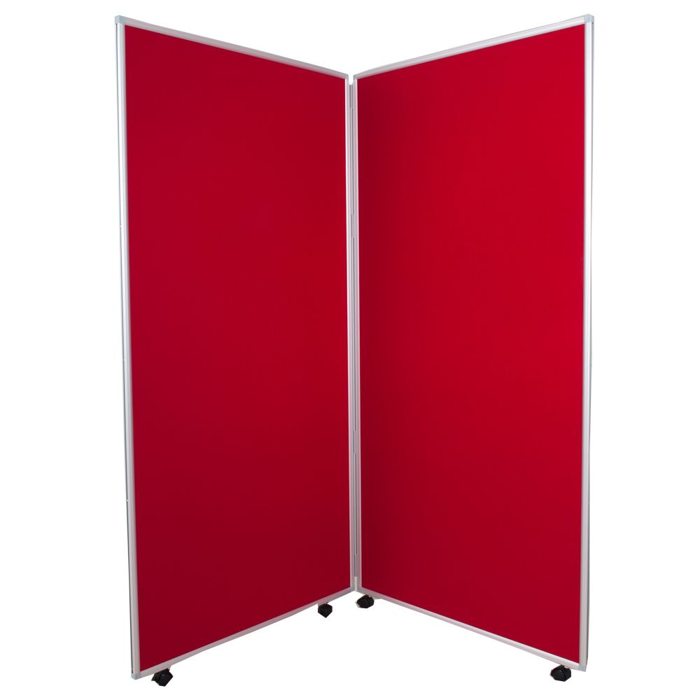 Fabric Pop Up Exhibition Stands : Aluminium frames mobile folding display panels in