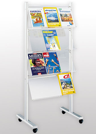 BROCHURE DISPLAY RACK