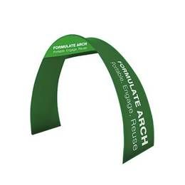 Formulate Arch Fabric texstyle, Double Sided Exhibition Pop Up Display Stand