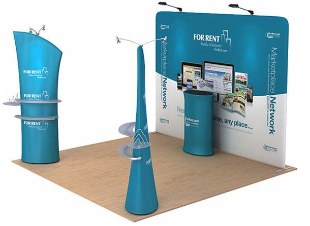 Formulate Vivo  Fabric Banner System KIT 1 Pop Up Display Stand