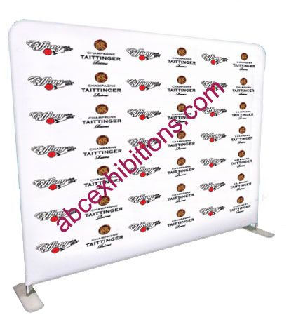Formulate Straight Fabric Pop Up  Exhibition Stand With Carry Bag