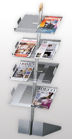 sloping A4  LITERATURE STAND