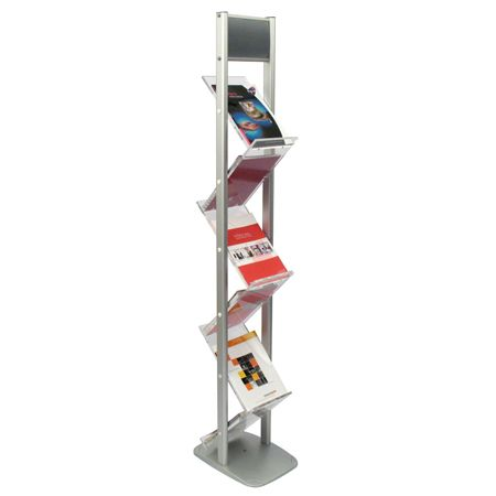 ZIG ZAG A4 Portrait BROCHURE LITERATURE DISPENSER