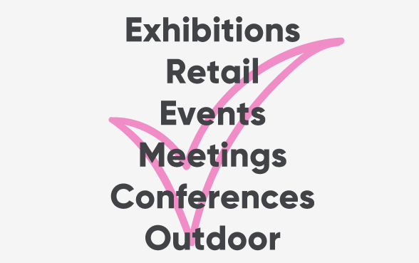 exhibitions events outdoor conferences meetings displays backdrop