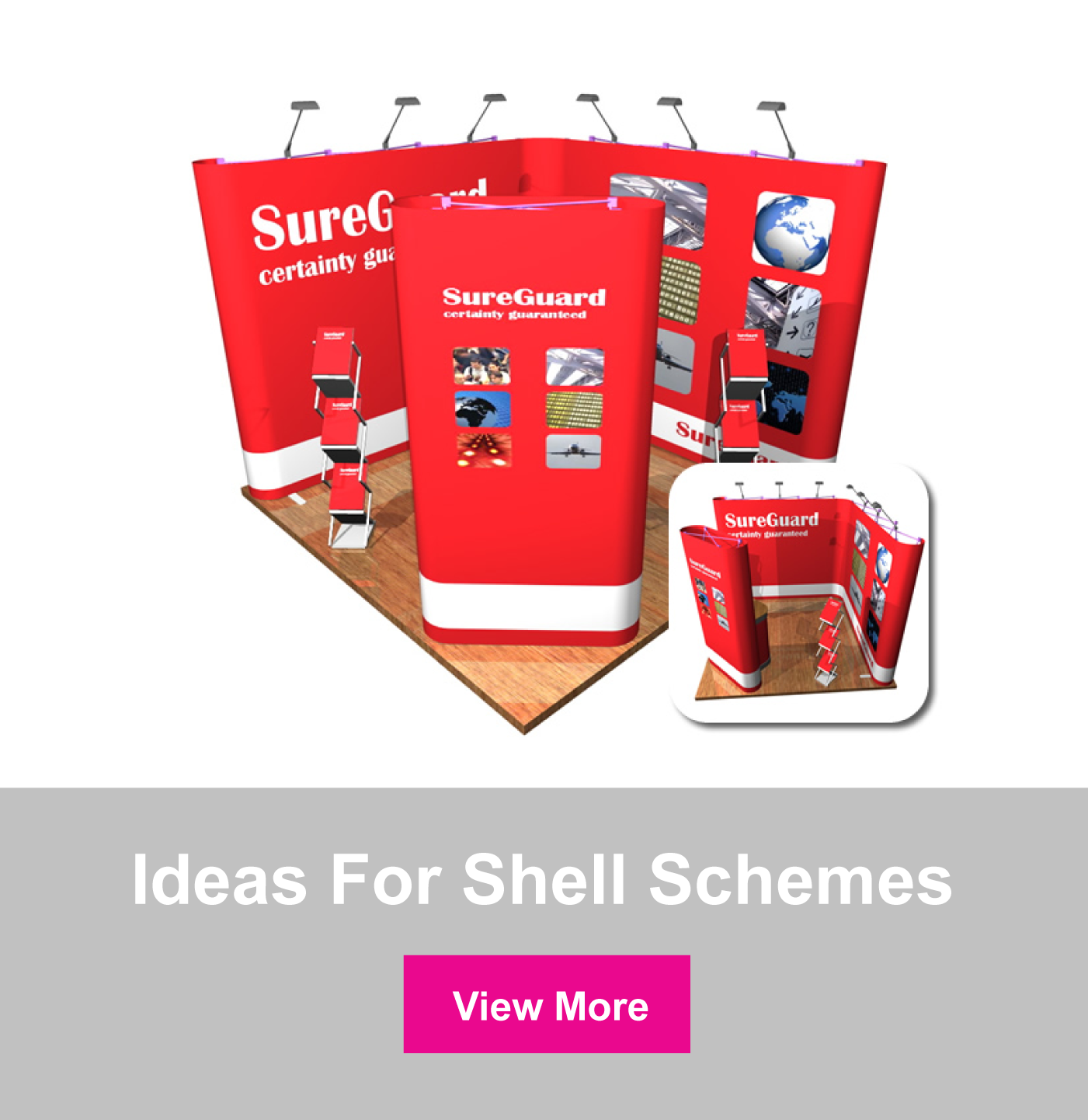 Ideas for shell scheme stands