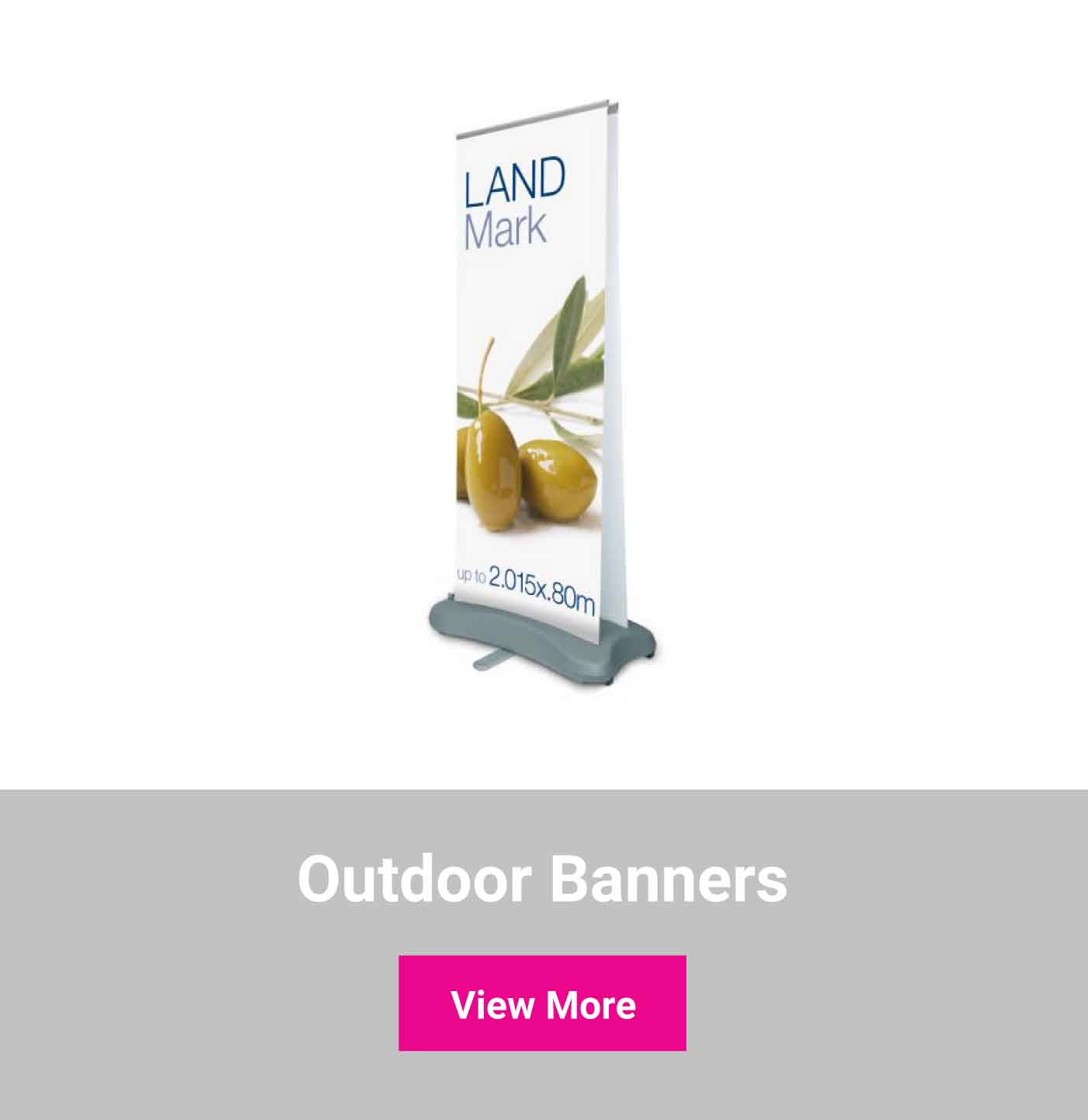 Shop outdoor banners