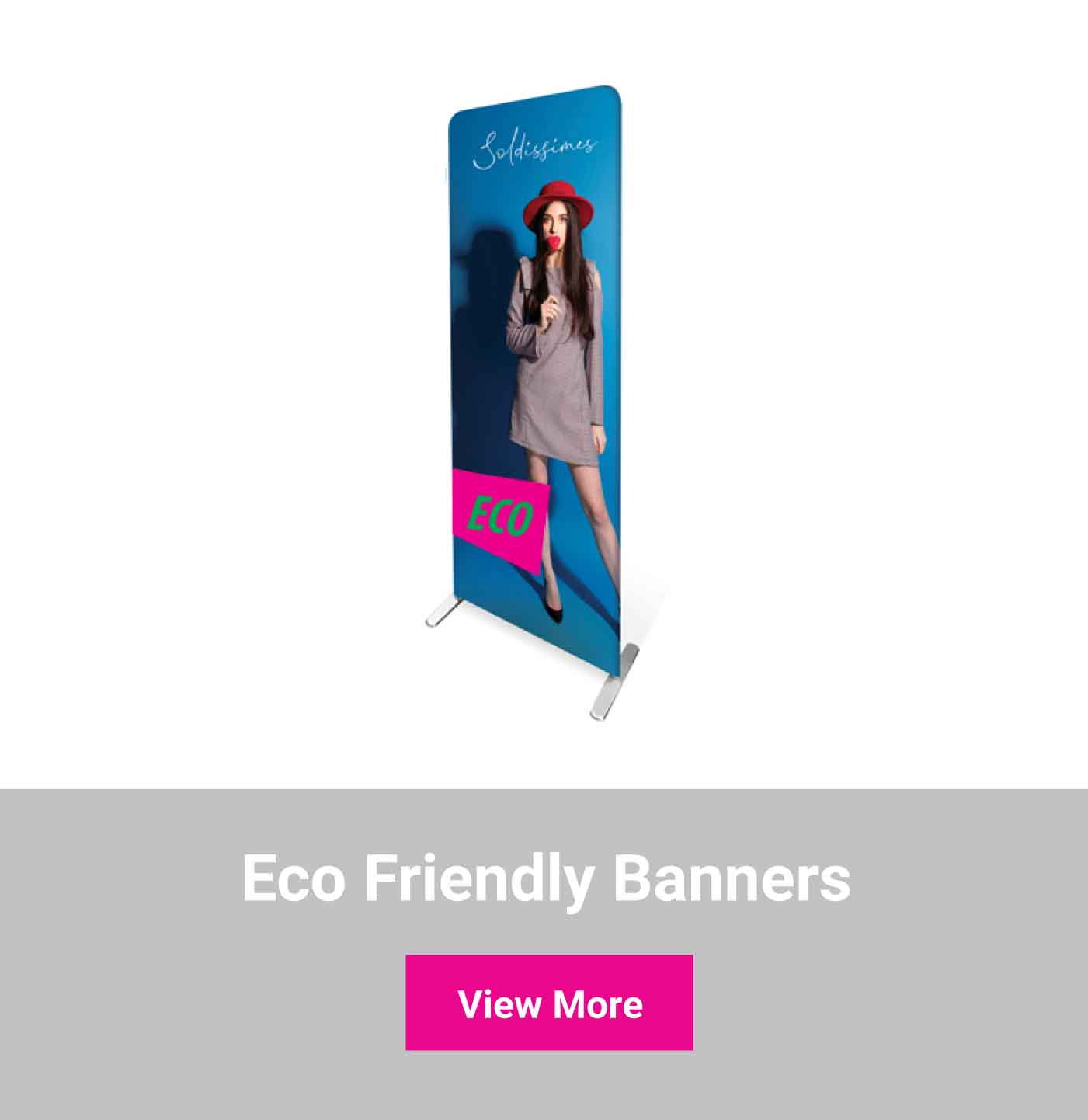 Shop eco friendly banners