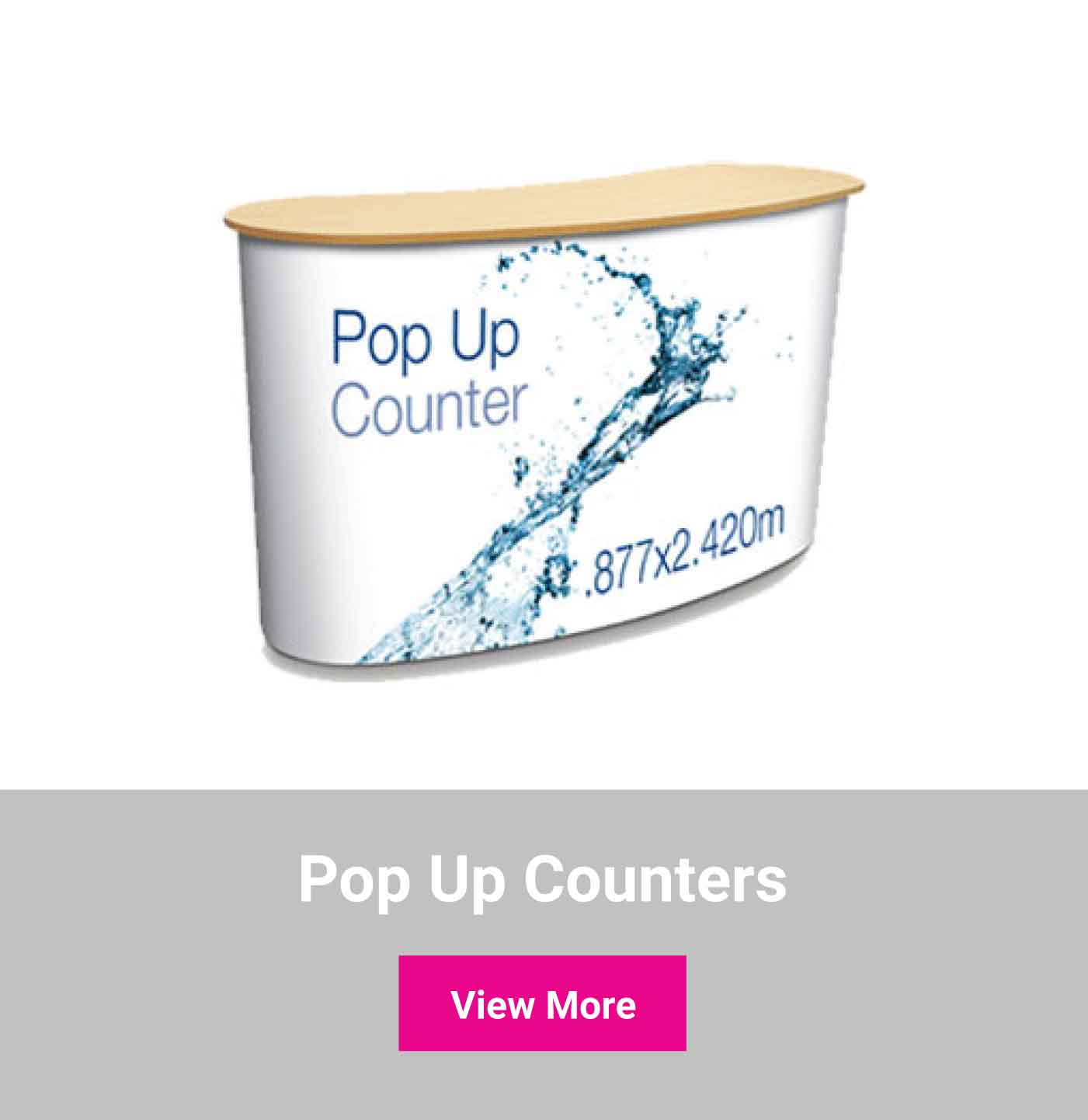 Shop pop up counters