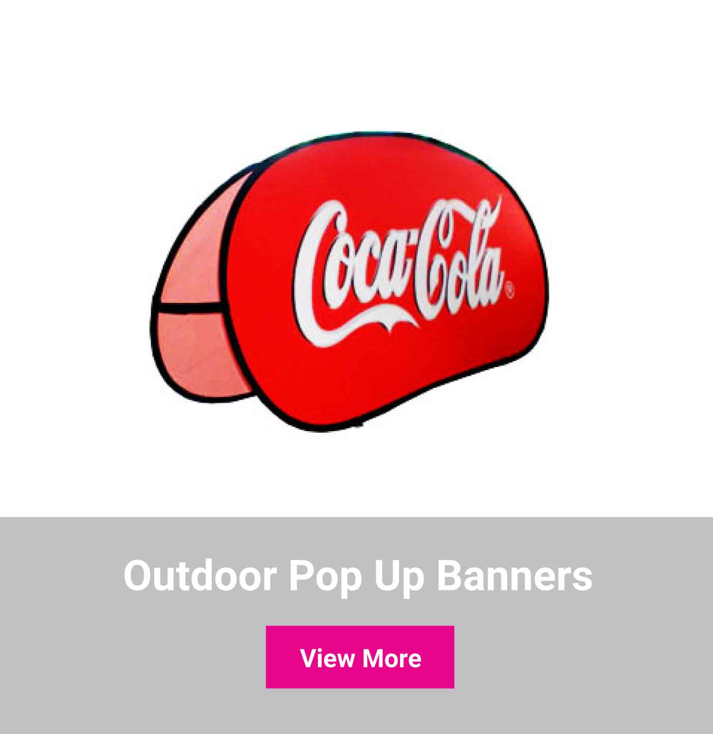 Shop outdoor pop up banners