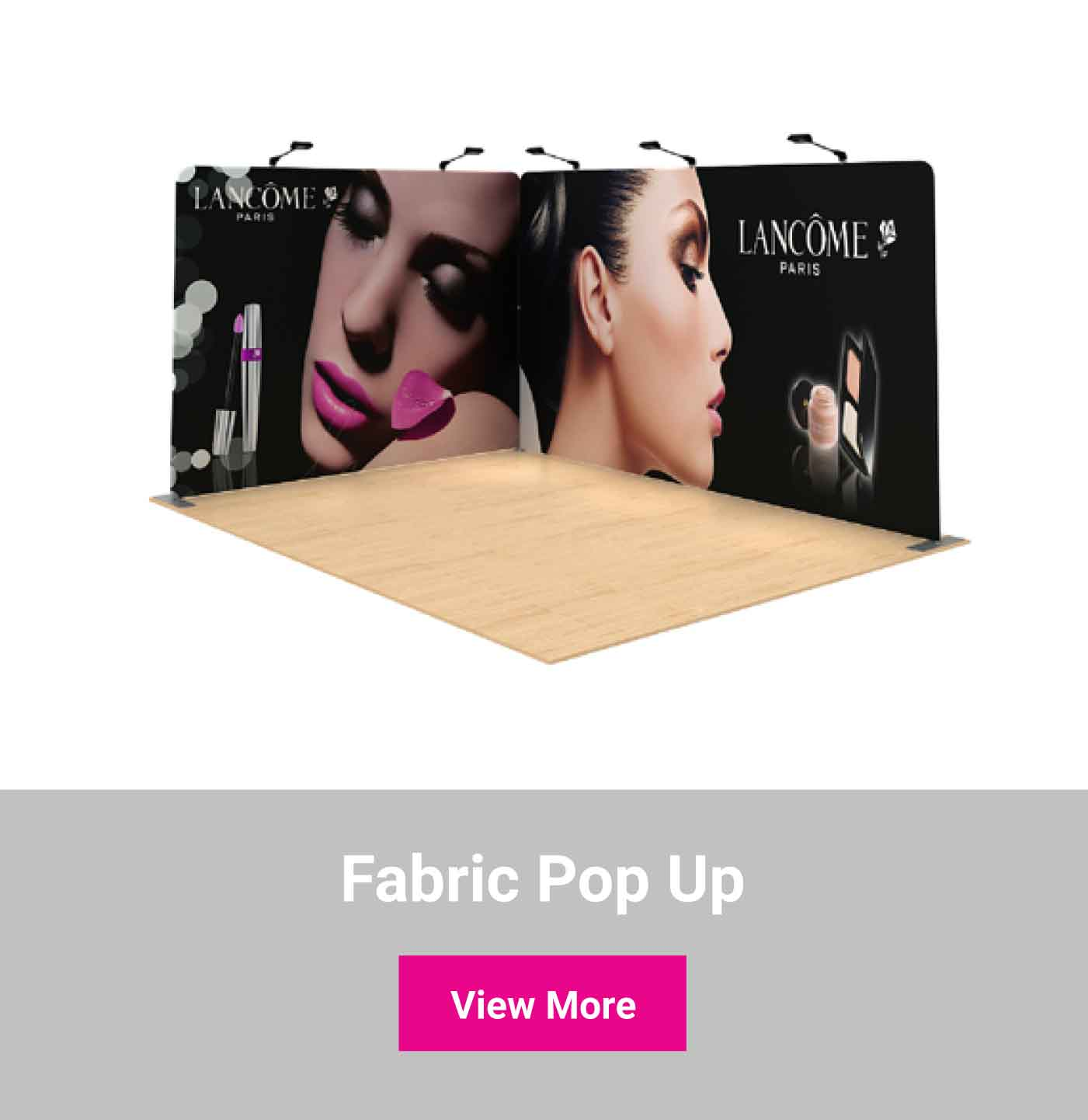 Shop fabric pop ups