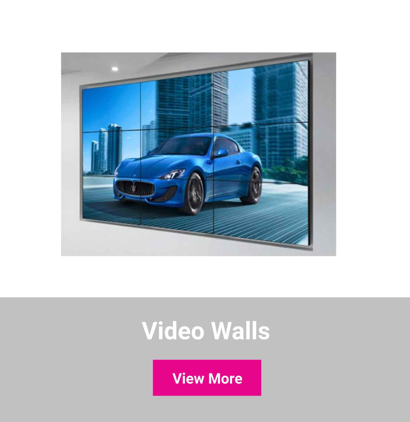 Shop video walls